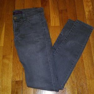 Grey Jean leggings